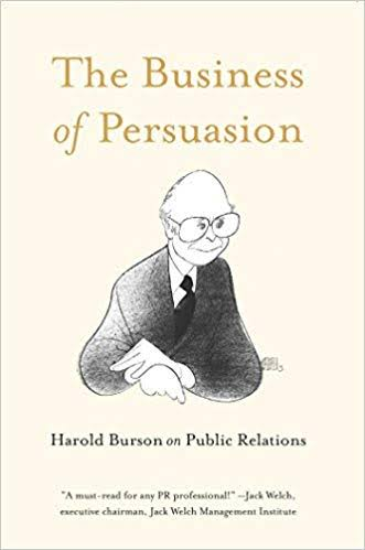 Throughout the years, I've encountered many books that have informed how I practice in the field, including one book that was instrumental in my decision to join the public relations industry.